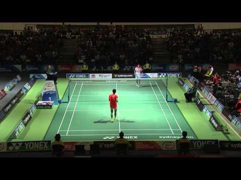 دانلود فینال انفرادی آقایان جام Yonex Australian Badminton Open 2013