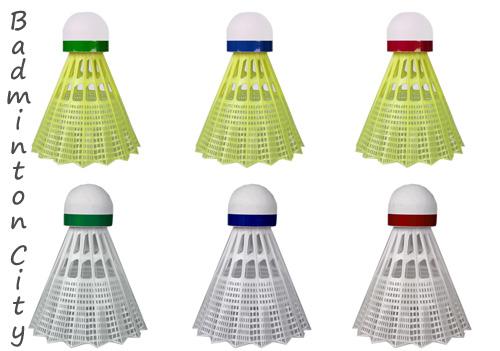 معنی رنگ های دور توپ های پلاستکی بدمینتون