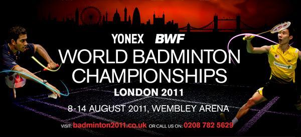 Yonex BWF Badminton World Championships 2011