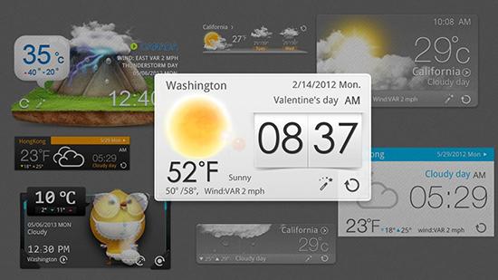 نرم افزاری زیبا برای پیش بینی وضع آب و هوا + دانلود