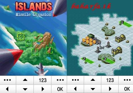 دانلود بازی استرتژیکی ودونفره(بلوتوثی)island برای گوشی های جاوا و corby