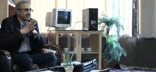 نشست صمیمی با مسئولین / دکتر بصیری / معاونت فرهنگی دانشگاه