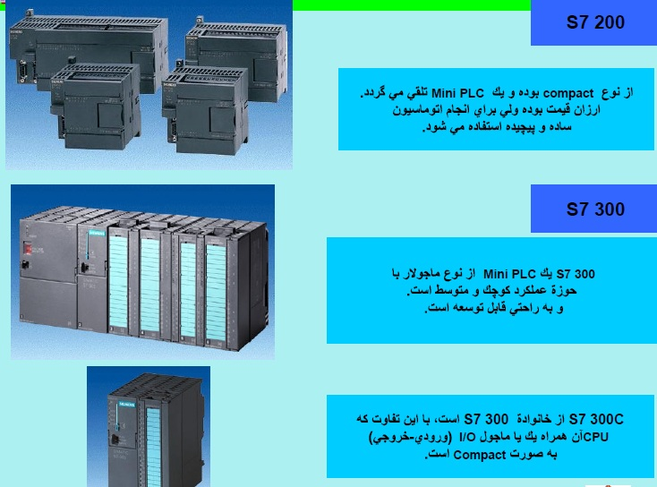 پاورپوینت های جدید  در مورد PLC یک