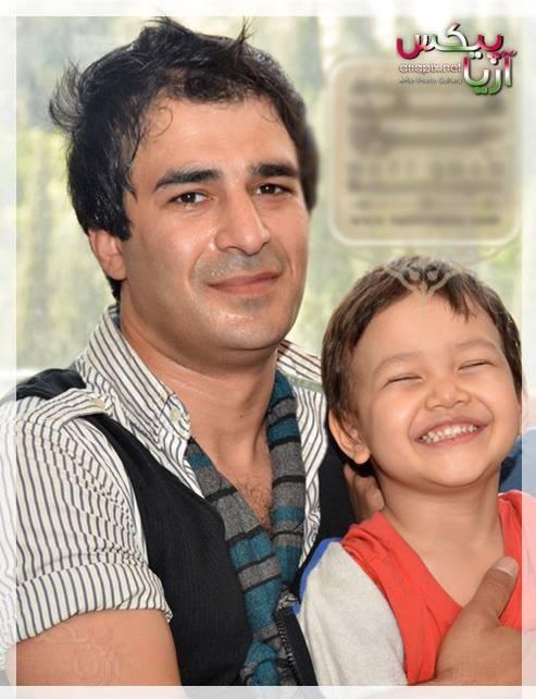 یوسف تیموری و پسرش