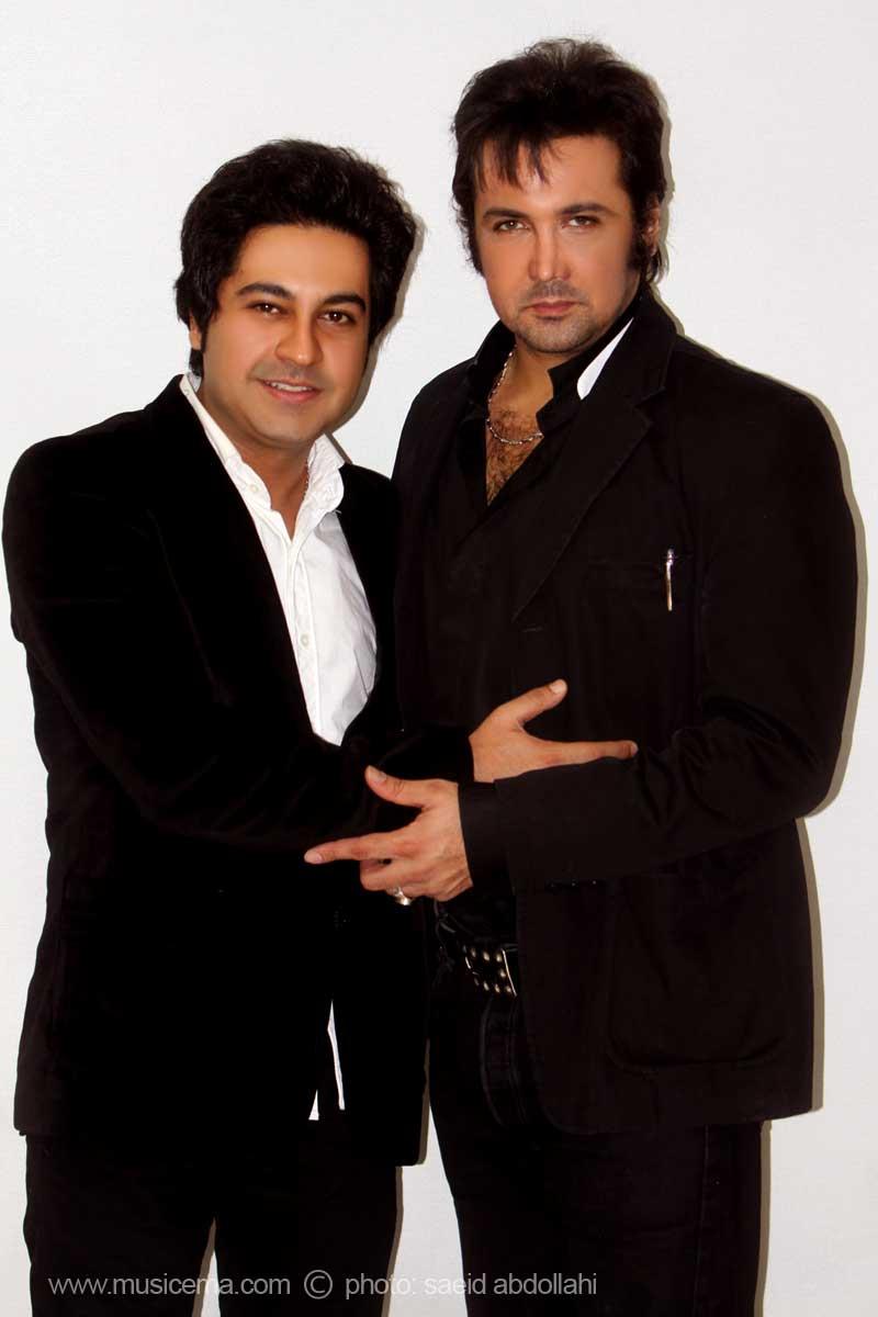 بهنام صفوی در کنار حسام نواب صفوی