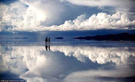 تصاویر رویایی شبیه راه رفتن روی آسمان!