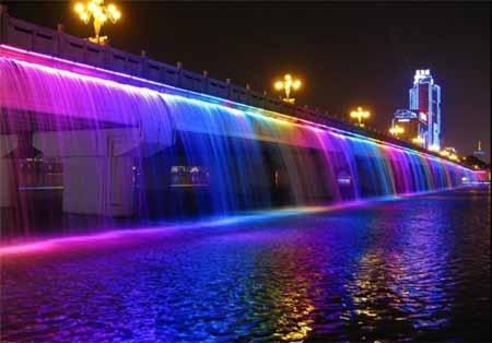 پلهای رنگینکمانی دنیا!