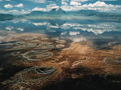 زیبایی های رویایی دریاچه نمک ناترون در تانزانیا!