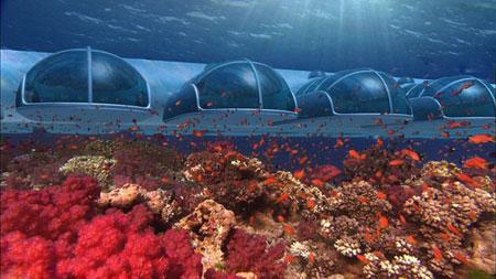 تصاویری از زیباترین هتل های زیردریایی جهان!