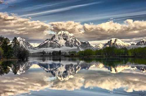 تصاویر دیدنی از انعکاس طبیعت در آب!
