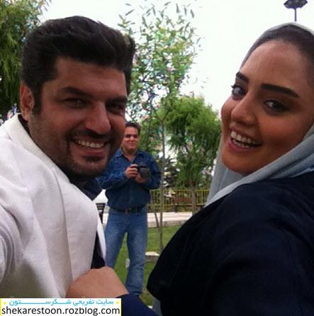 ازدواج سام درخشانی با نرگس محمدی شایعه است + عکس