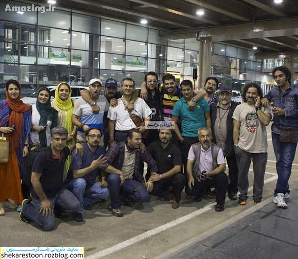 عکس های بازیگران ایرانی در  برزیل ۲۰۱۴