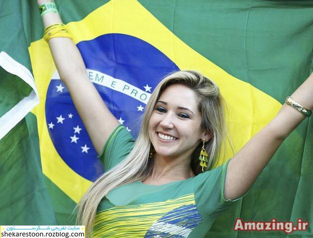 عکس های تماشاگران فوتبال جام جهانی ۲۰۱۴ برزیل