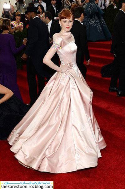 بهترین لباس های هنرمندان هالیوودی در مراسم Met Gala 2014
