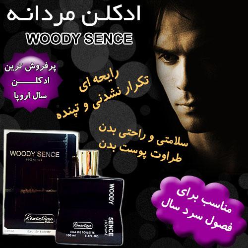 ادکلن مردانه WOODY SENCE