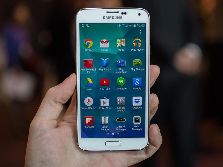 گوشی موبایل طرح GALAXY S5 Samsung اندروید کیتکت❺ KitKat❺