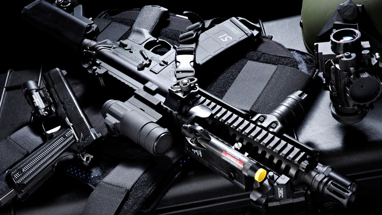 مدرن تریم اسلحه ها
