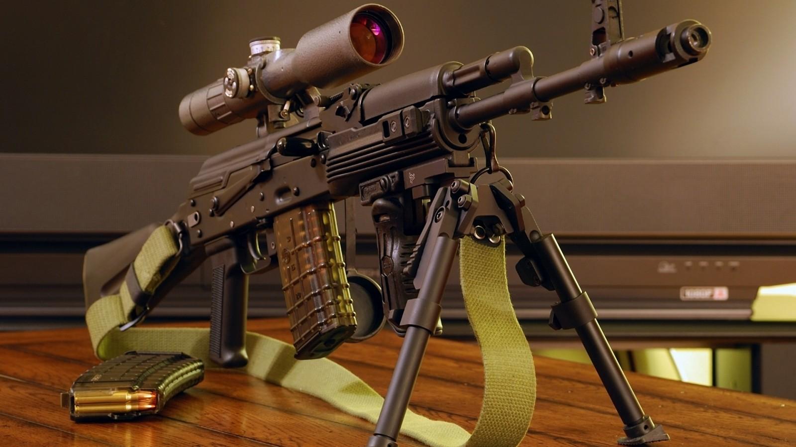 مدرن ترین و پیشرفته ترین اسلحه ها