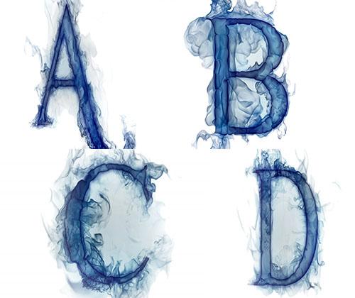 والپر های بسیار زیبا از حروف انگلیسی