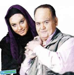 عکس شخصی اکبر عبدی و دخترش | WwW.BestBaz.RzB.Ir