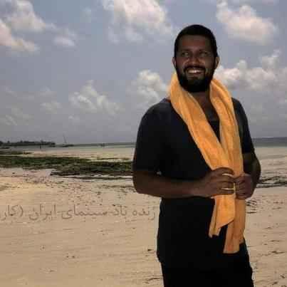 عکسی از ظاهر متفاوت حامد بهداد در آفریقا | WwW.BestBaz.RozBlog.Com