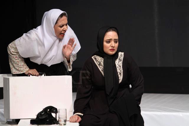 عکس های ناز و جدید نرگس محمدی درحال بازی تئاتر | WwW.BestBaz.RozBlog.Com