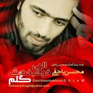 متن آهنگ الهی خوشبخت شی گلم از محسن یاحقی | WwW.BestBaz.RozBlog.Com