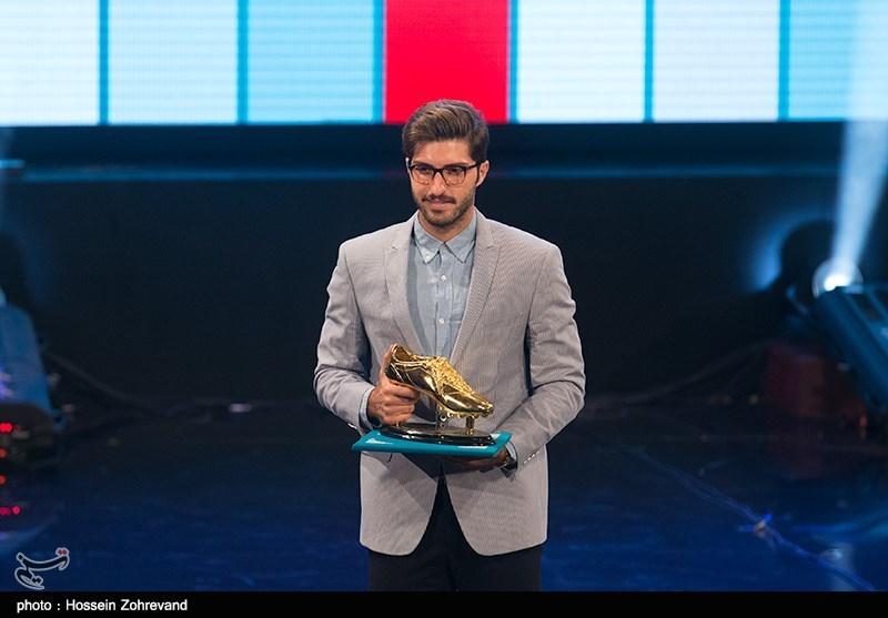 گزارش تصویری توپ طلای فوتبال ایران و انتخاب برترین های لیگ سیزدهم فوتبال