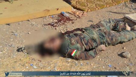 تصاویری از قتل عام ایزدی ها توسط داعش