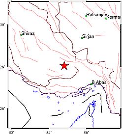 زلزله فارس را لرزاند + جزئیات