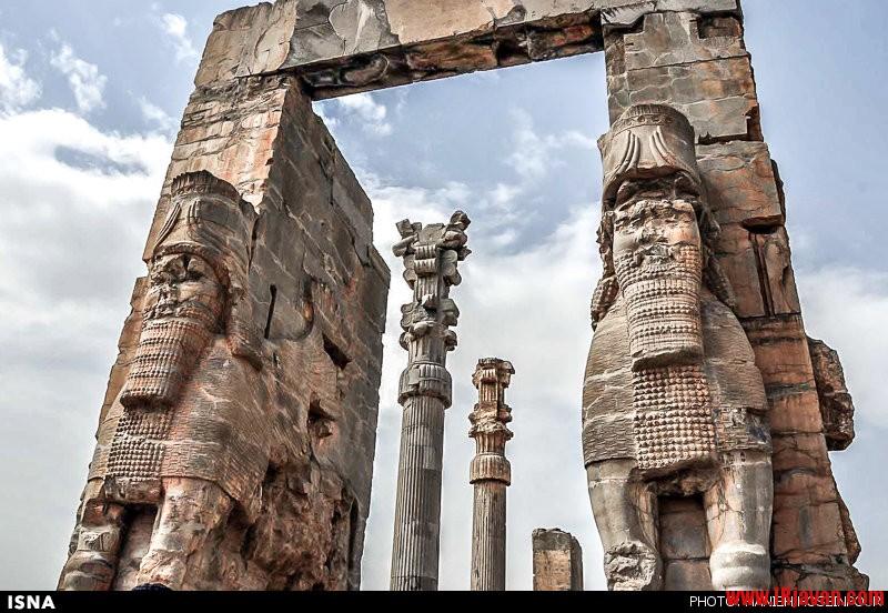 تخت جمشید جلوه ای از شکوه تمدن ایران