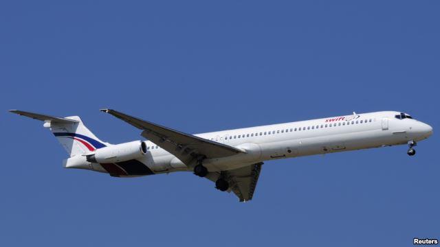 یک هواپیمای مسافربری الجزایر با ۱۱۶ سرنشین سقوط کرد