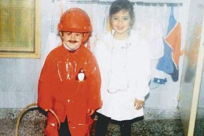جنجالی که عکس کودکی مسی به راه انداخت (+عکس)