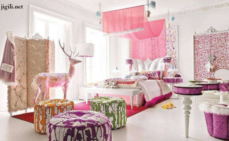مدل های جدید تخت خواب برای اتاق خواب دخترانه