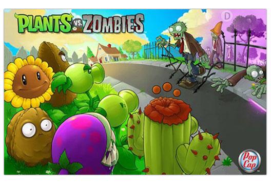 دانلود بازی بسیار زیبا و کم حجم Plants vs. Zombies 2012 برایpc
