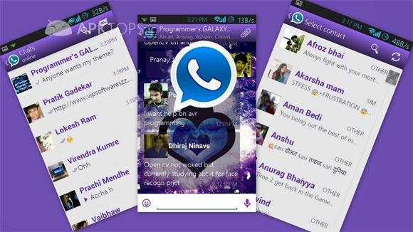 آخرین نسخه Whatsapp+ اندروید نسخه 100% فول آنلاک و پج شده