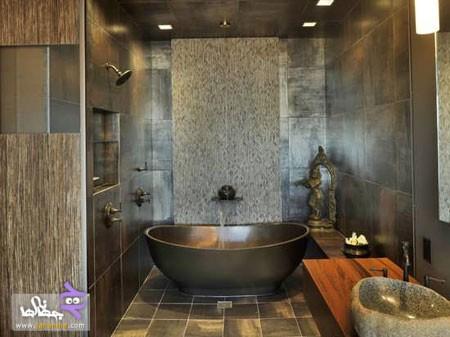 دکوراسیون حمام مدرن منازل ایرانی
