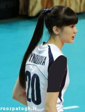 زیباترین زن والیبالیست آسیا انتخاب شد