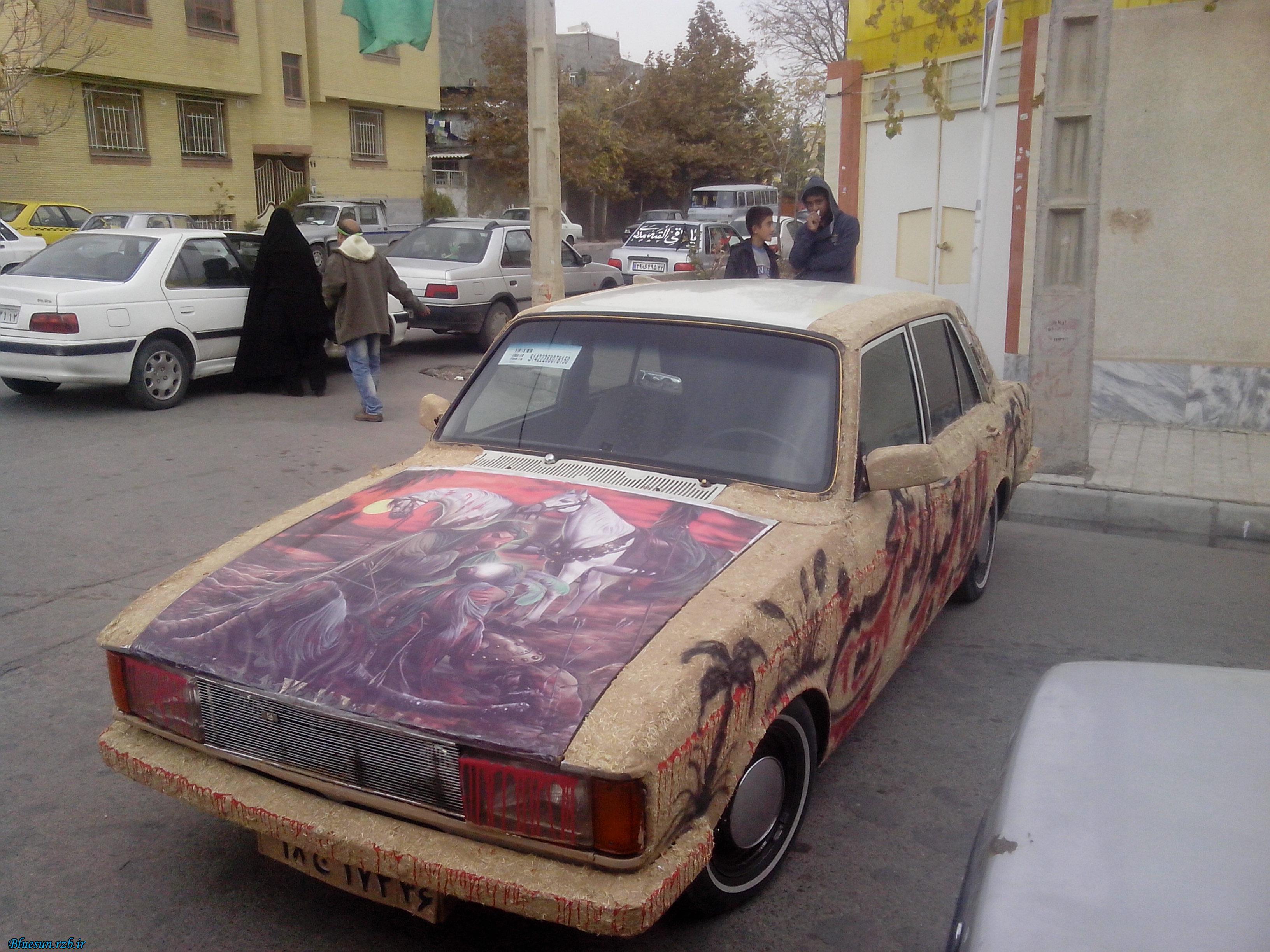 عکس دیدنی ماشین