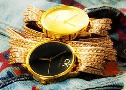 خريد ساعت مچي طلايي دستبندي