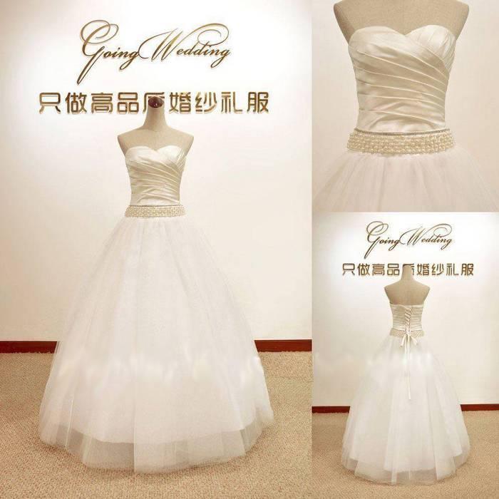 مدل لباس عروس كره ای