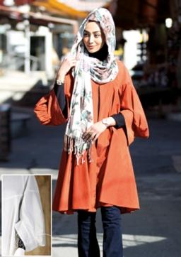 جدیدترین مدلهای مانتو زنانه در سه رنگ نارنجی مشكی سرمه ای