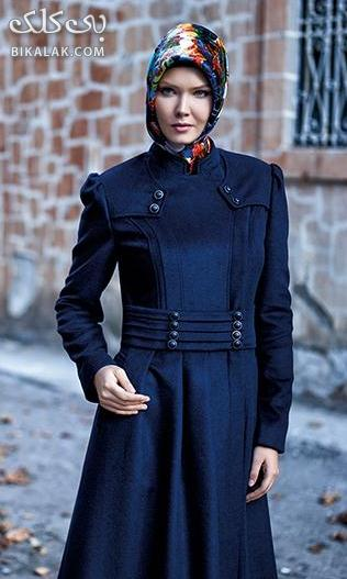 مدل مانتو بلند و پوشده زنان لاغر اندام
