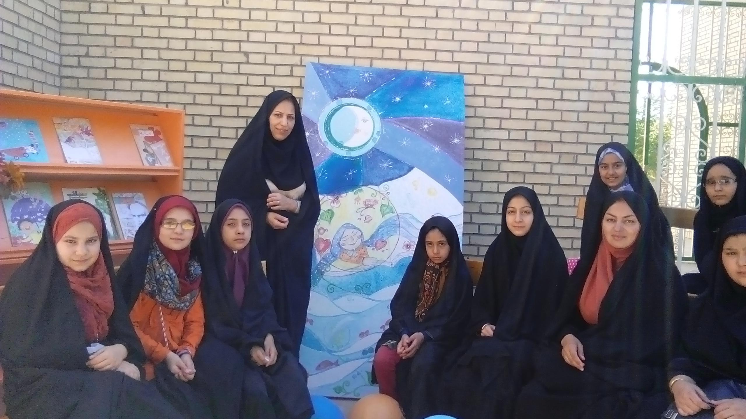برگزاری کلاس قصه گویی به مناسبت دهه کرامت