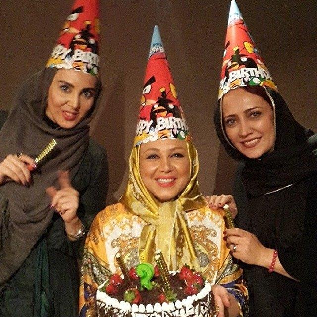 عکس های  جشن تولد بهنوش بختیاری