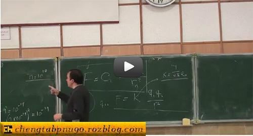 فیلم آموزشی فیزیک عمومی 2 دانشگاه شریف (جلسه 4، 5 و 6)