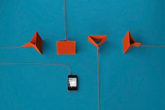 اسپیکرهای تاشو برای گوشی و لپ تاپ