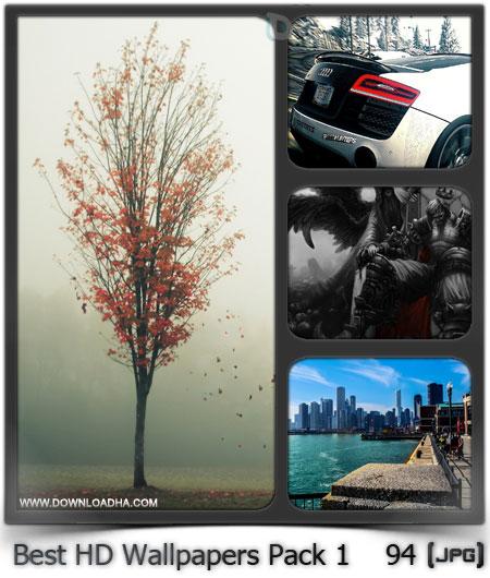 مجموعه ۹۴ والپیپر دیدنی برای دسکتاپ Best HD Wallpapers Pack 1