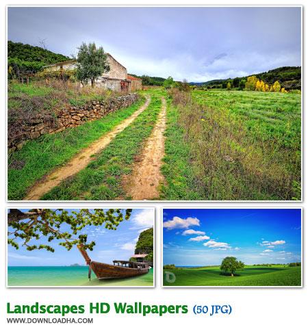 مجموعه ۵۰ والپیپر زیبا با موضوع طبیعت Landscapes HD Walpapers