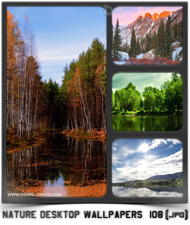 مجموعه ۱۰۸ والپیپر دیدنی طبیعت Nature Desktop Wallpapers
